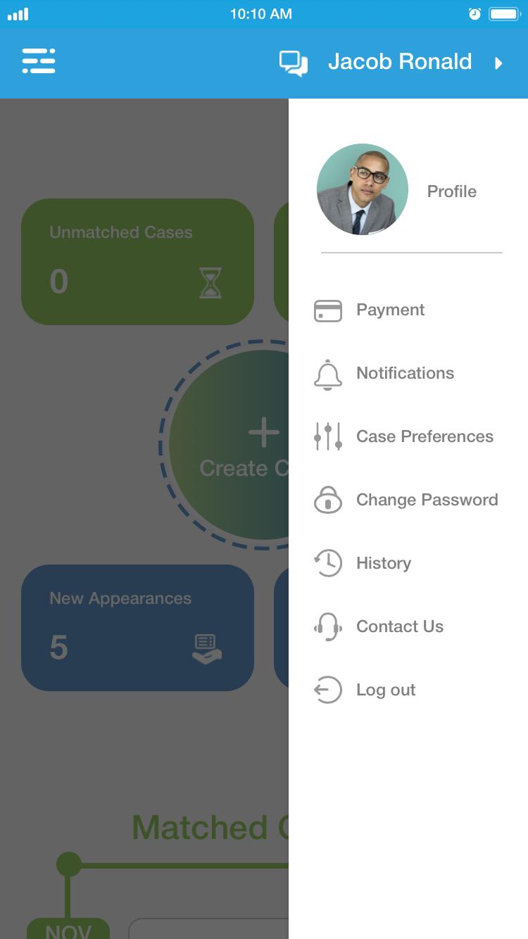 right side menu Iphone 6