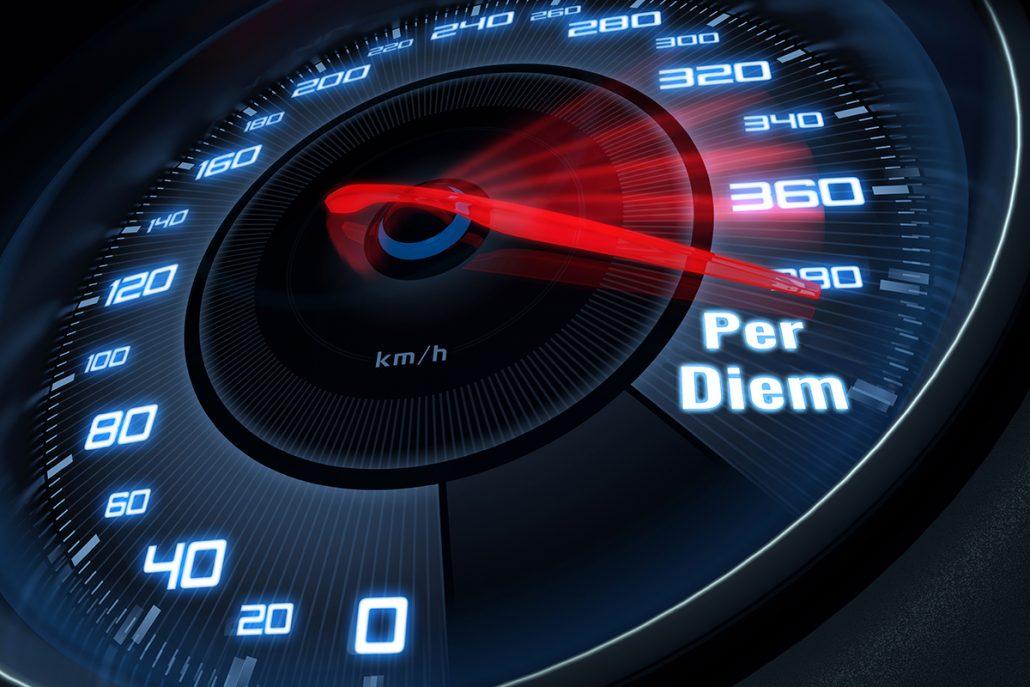 Super Fast Access to Per Diem Services