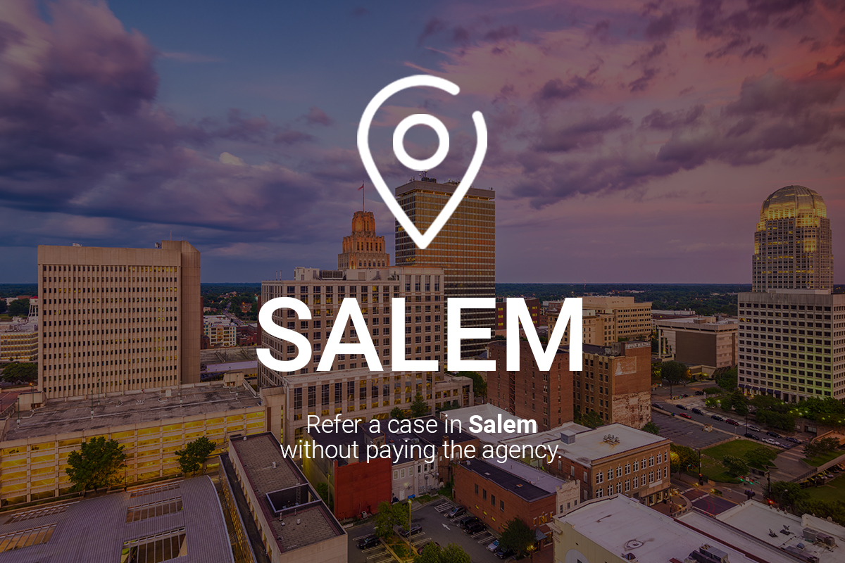 Refer a Case in Salem Without Paying the Agency