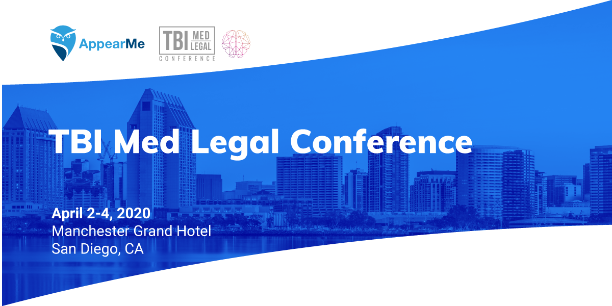 AppearMe at the TBI Med Legal Conference
