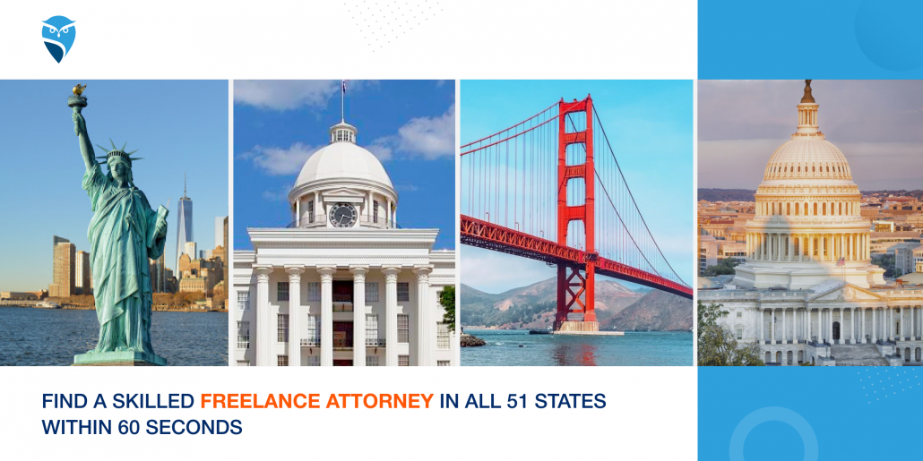 Find a Skilled Freelance Attorney in All 51 States within 60 Seconds