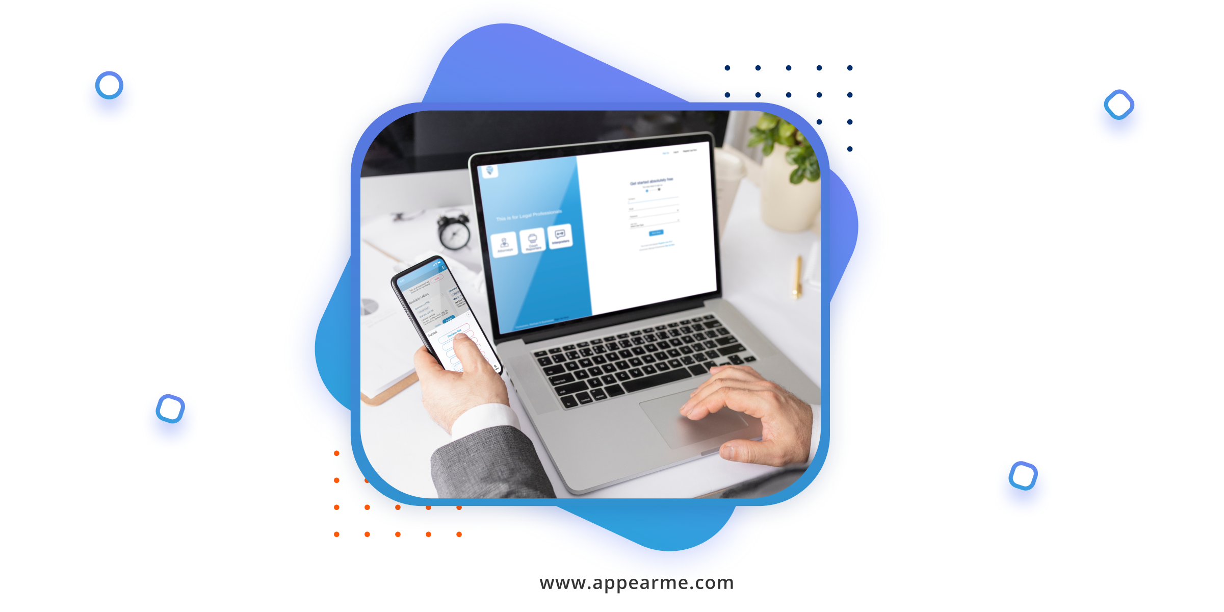 AppearMe: Delegate Your Legal Work to a Freelance Attorney