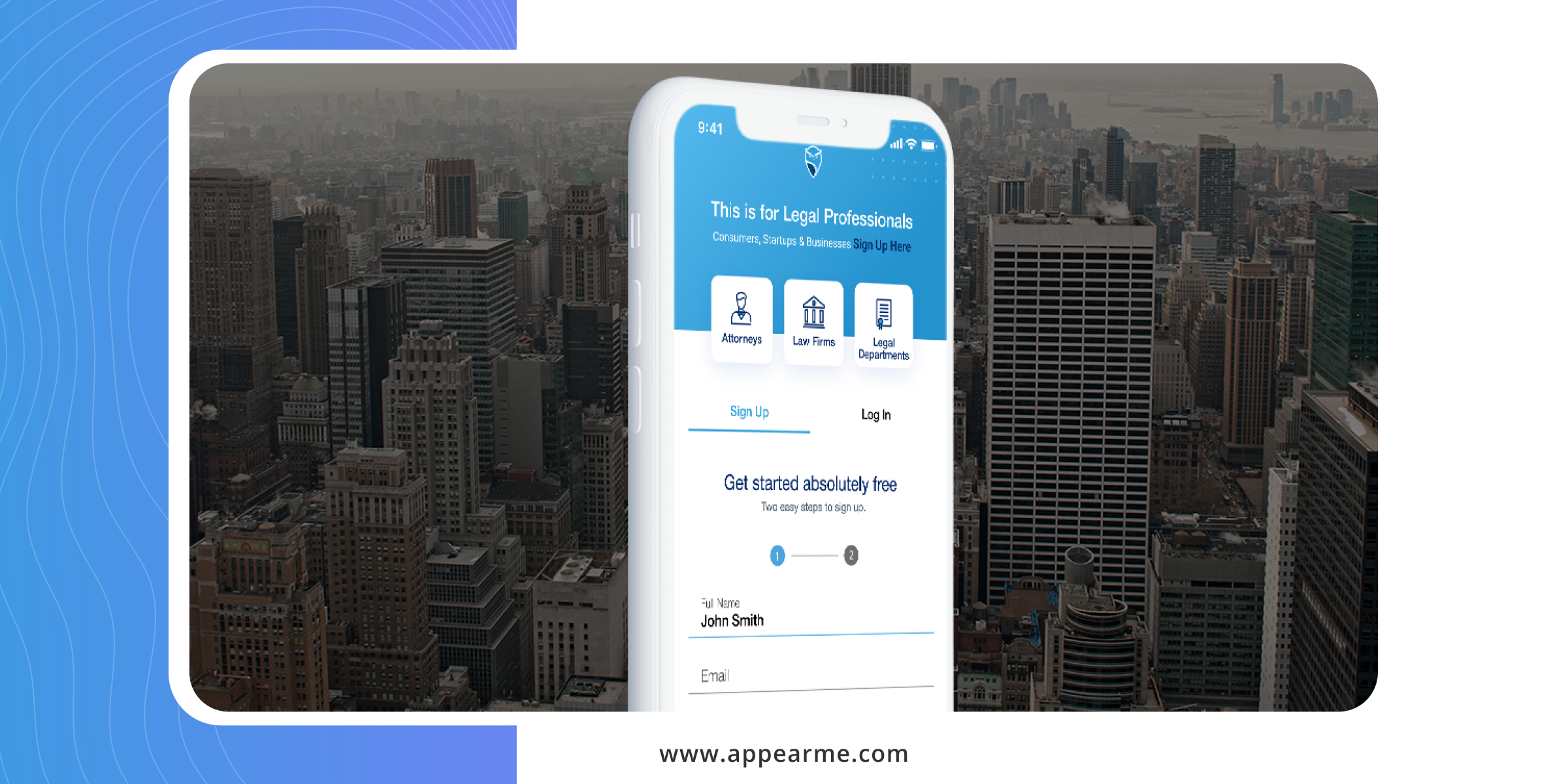 Are you Looking for Appearance Attorneys Nationwide? Sign Up for AppearMe