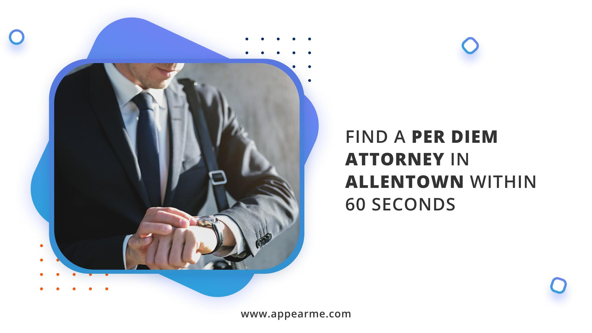 per diem attorney