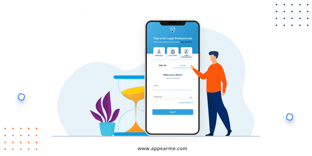 Download AppearMe and Find an Appearance Attorney within 60 Seconds